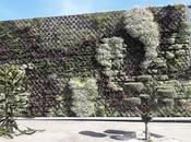 Jardín vertical empresa Nirvel cosmetics, Alcoy