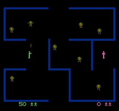 ¡Convierten Berzerk a NES!