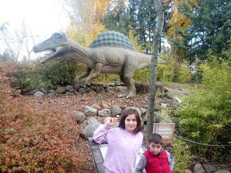 Dinosaurios en Faunia Madrid