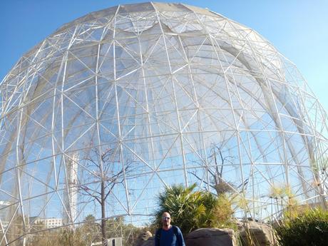 Aviario del Oceanografic de la Ciudad de las ciencias en Valencia