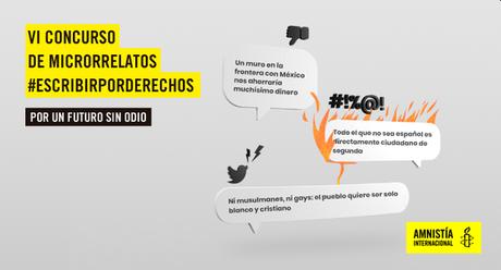 VI Concurso Escribir por derecho de Amnistía Internacional Madrid