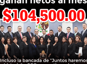 Diputados ganan pesos mes, resisten bajarse sueldo