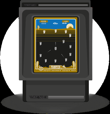 Frontier, un nuevo juego para Vectrex disponible para su compra