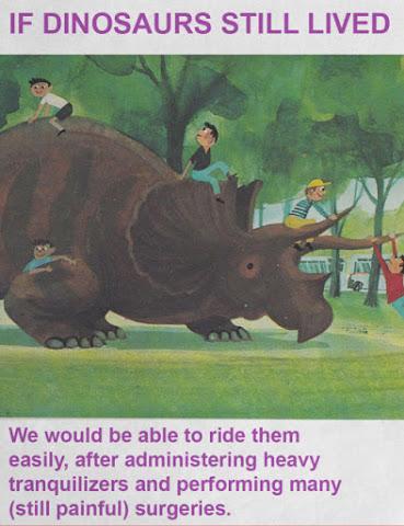 If Dinosaurs Still Lived