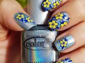 Manicura floral placa Nicole Diary-L05 venta Born Pretty Store