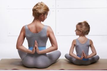 Beneficios del yoga infantil