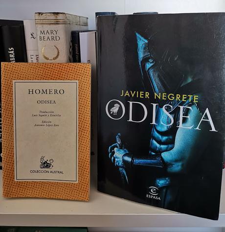 Reseña  de Odisea de Javier Negrete.