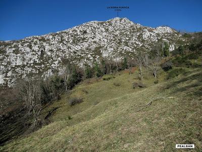 Santana-Pico Peláu-Fos de la Yegua-Cuacartel-Braña Mayor