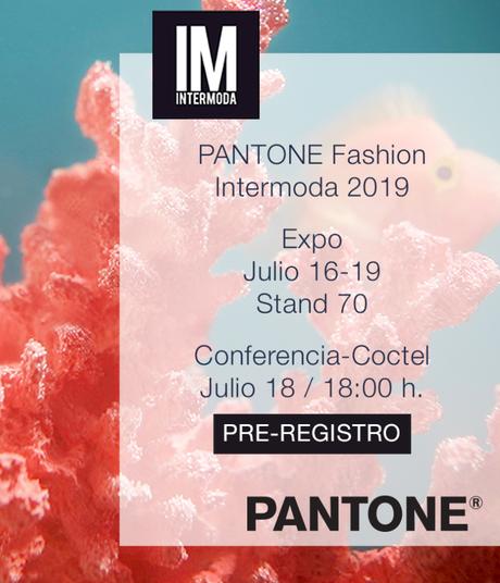 PANTONE® presente en Intermoda.