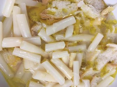 Gazpacho De Espárragos Blancos En Conserva Al Vinagre De Manzana