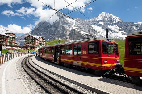 Kleine-Scheidegg.jpg.optimal ▷ Cómo caminar por el sendero Eiger en el Oberland bernés, Suiza