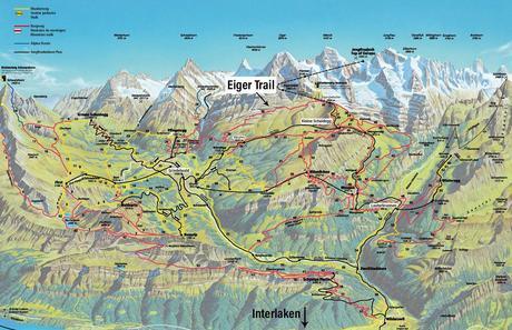 Map-of-the-Hike.jpg.optimal ▷ Cómo caminar por el sendero Eiger en el Oberland bernés, Suiza