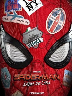 Spiderman Far From Home. Peter se va de vacaciones