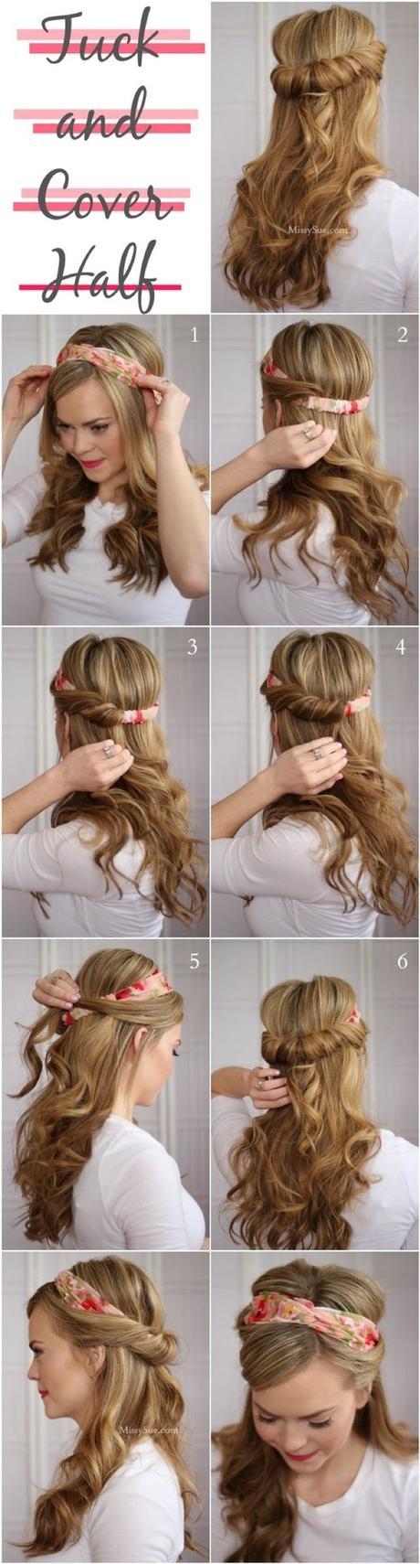Cómo usar la bandana en tus peinados