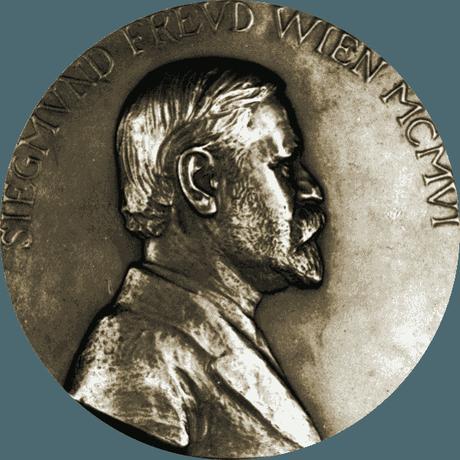 Medallón del padre del psicoanálisis
