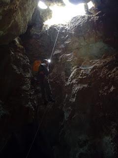 Nuevas simas encontradas en Santiago-Pontones (Jaén)