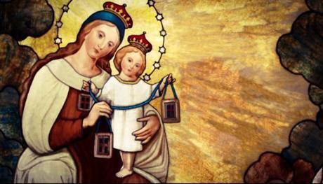 La Virgen del Carmen, Nuestra Señora de Tierra Santa