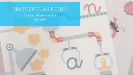 Mayúsculas RUBIO, una colección para la etapa de educación infantil