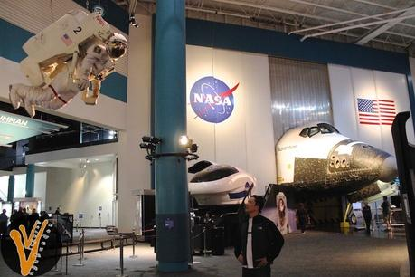 Lobby del Centro Espacial de la NASA