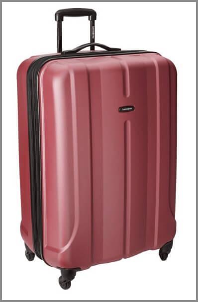 Samsonite-Luggage-Fiero-HS-Spinner-28-best-suitcases-for-travel ▷ Comente en 11 de las mejores maletas para viajes fáciles con 10 consejos de empaque que todo viajero debe saber | Noticias para el público