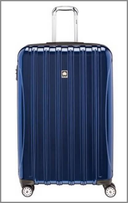 Delsey-Luggage-Helium-Aero-Expandable-Spinner-Trolley-best-suitcases-for-travel ▷ Comente en 11 de las mejores maletas para viajes fáciles con 10 consejos de empaque que todo viajero debe saber | Noticias para el público