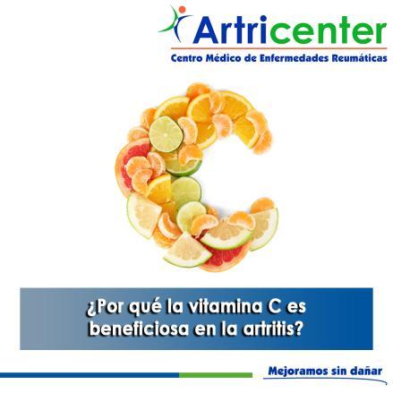 Artricenter: ¿Por qué la vitamina C es beneficiosa en la artritis?
