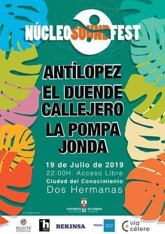 Vuelve el Núcleo Sound Fest a Entrenúcleos