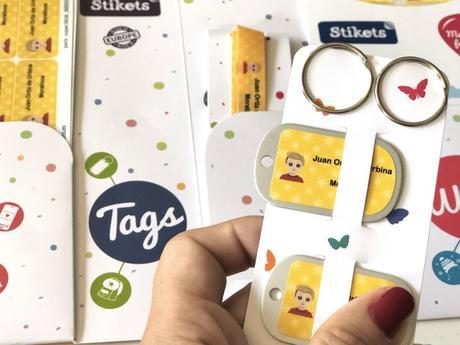 Con etiquetas de Stikets marca todo fácilmente ¡Sorteo!