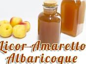 Licor albaricoque, amaretto