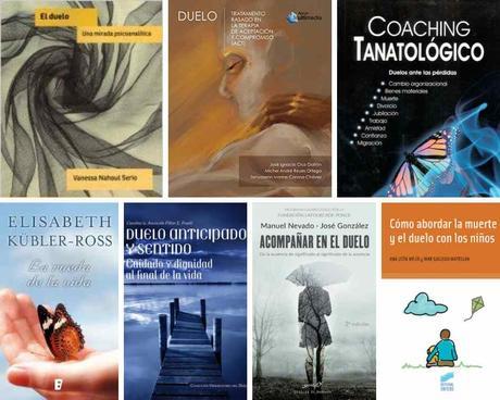 Libros sobre duelo para profesionales de la salud