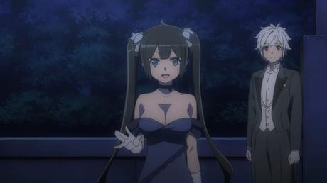 Reseña / Dungeon ni Deai wo Motomeru no wa Machigatteiru Darou ka 2 / Episodio 1