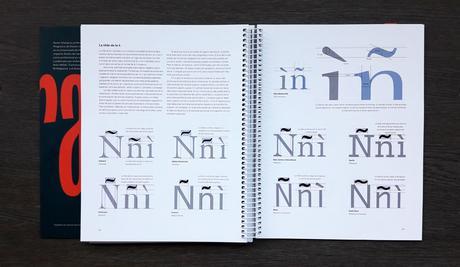Interior de Diseñar tipografía, de Karen Cheng, publicado por Jardín de Monos