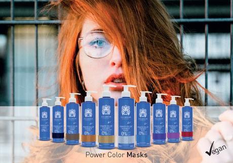 """""""Power Color"""" de VÁLQUER – la nueva gama de champús y mascarillas de coloración temporal"""