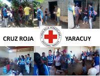 Cruz Roja Yaracuy Atendio a Afectados por las lluvias en el Guayabo