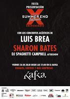 Concierto de Sharon Bates y Luis Brea en la Sala Kafka
