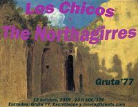 Concierto de Los Chicos y The Northgirres en Gruta 77