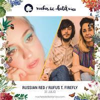 Concierto de Russian Red y Rufus T. Firefly en las Noches del Botánico