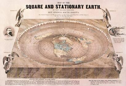 Mapa antiguo de la tierra