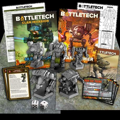 Mecenazgo de BattleTech:Clan Invasion y la comunidad española de BattleTech