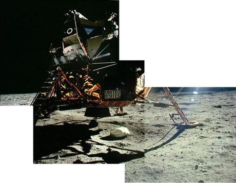 El primer Objeto sobre la Superficie Lunar