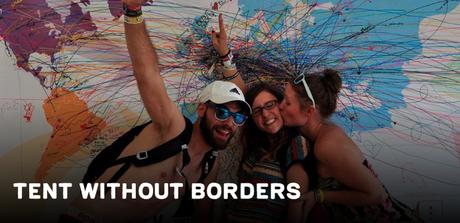 Carpa sin fronteras, un espacio por los derechos humanos en Sziget 2019