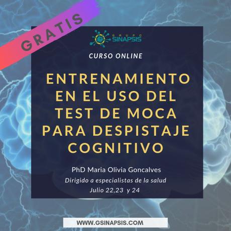 Test de Moca para evaluación del deterioro cognitivo (entrenamiento online)