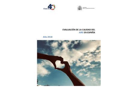 Evaluación de la Calidad del Aire en España 2018
