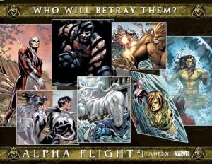 ¿Quién traicionará a Alpha Flight durante Fear Itself?