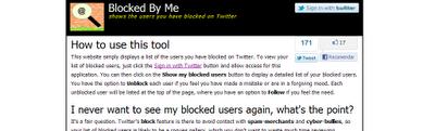 Saber a quien tengo bloqueado en Twitter