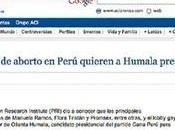Diario homofobia clerical contra ollanta humala