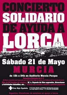 Concierto Solidario de ayuda a Lorca
