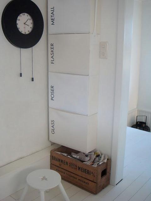 Ikea hack trones para reciclar paperblog for Cubos de reciclaje ikea