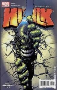 Etapas de Culto de Personajes Clásicos: Hulk de Bruce Jones