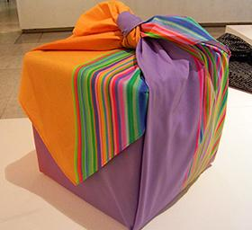 Furoshiki, el arte japonés de envolver con tela